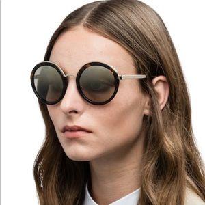 Prada • Oversized Round Sunglasses • NIB
